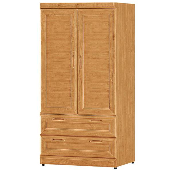 衣櫥實木丹姿赤楊木3x6尺衣櫃免組裝時尚屋G15