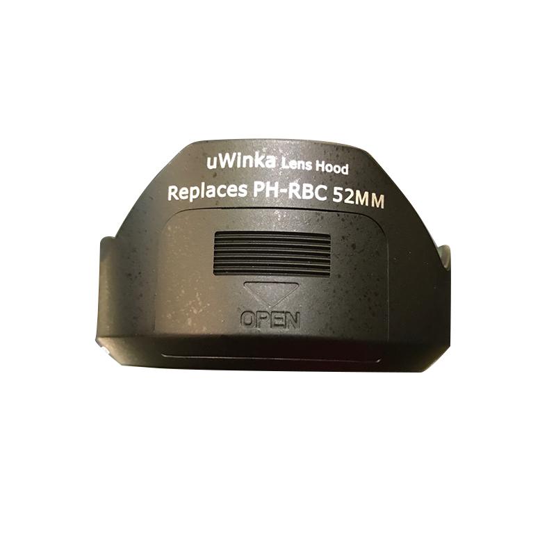黑熊館 Pentax 專用遮光罩 DA 18-55mm F3.5-5.6 AL WR 太陽罩 PH-RBC 52mm RBC 鏡頭蓮花罩