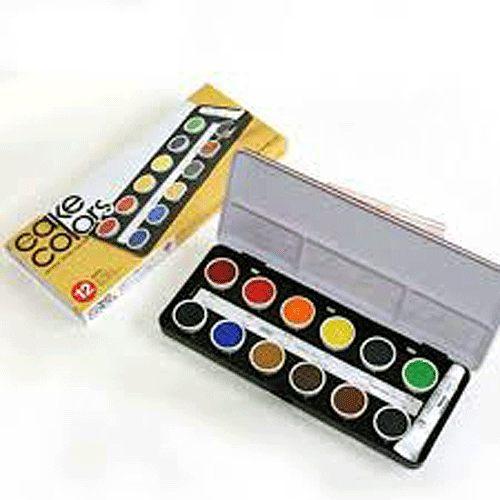 日本製HOLBEIN好賓牌專家藝術家級12色塊狀水彩餅水彩顏料透明色系水彩*C010
