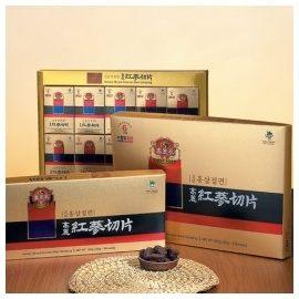品人生韓國高研頂級六年根高麗紅蔘切片20gx5包禮盒包裝