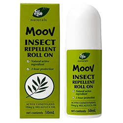 EGO茶樹防蚊精油MOOV Insect Repellent Roll-On 50ml瓶