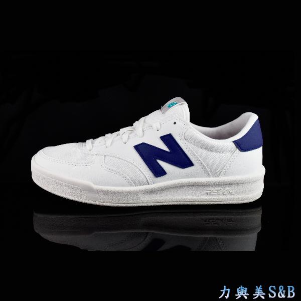 輕量復古鞋new balance女休閒運動鞋復古款超百搭TIER 2 To 3白色鞋面藍色LOGO 5881