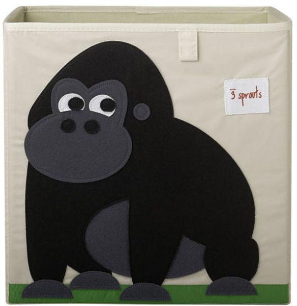 【原廠公司貨】加拿大3 Sprouts 收納箱~大猩猩
