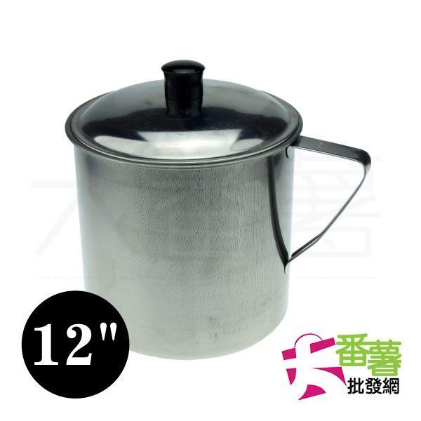 台灣製 #430不鏽鋼口杯12公分/不鏽鋼鋼杯 [大番薯批發網 ]