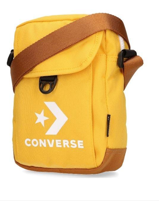 CONVERSE-黃色運動斜背包-NO.10008299-A07