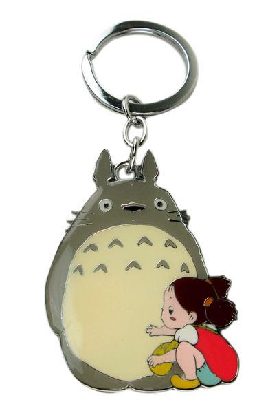 【卡漫城】龍貓 鑰匙圈 ~ Totoro  拉鍊環 吊飾環 掛飾 草壁梅 高約6cm