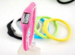矽膠運動手錶 糖果色 手錶批發 防水學生手錶(不挑色)【省錢博士】