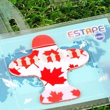 【ESTAPE】造型隨手貼( 飛機-加拿大)