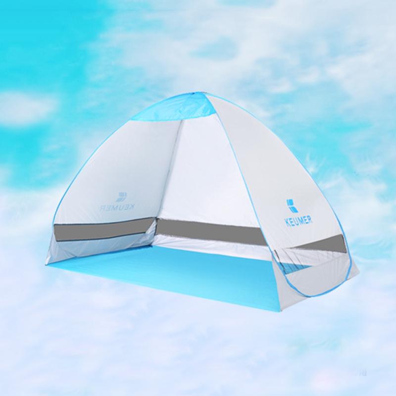 【泰博思】KEUMER(200*120*130)秒開帳篷 遮陽帳篷 沙灘帳篷【H034】