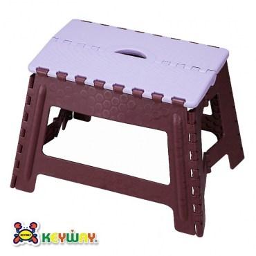 KEYWAY休閒摺合椅紫色款PP-0117 31x44.5x30.3cm