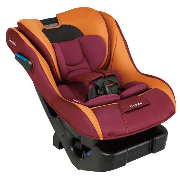 康貝Combi News Prim Long S安全座椅汽座-巴洛克紅