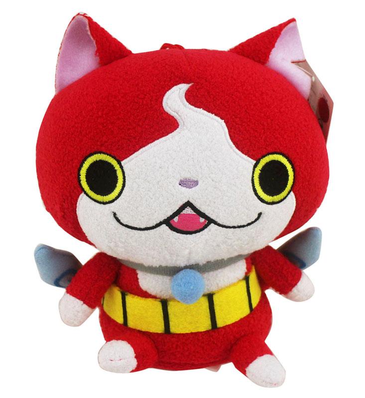 【卡漫城】 吉胖貓 娃娃 18cm ㊣版 吉胖喵 妖怪手錶 玩偶 絨毛 布偶 裝飾 擺飾 附吊繩