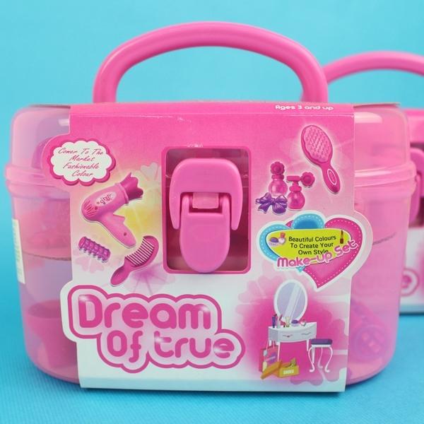 手提化妝組1212AB扮家家酒玩具童玩一個入促180壓盒手提組~創1212