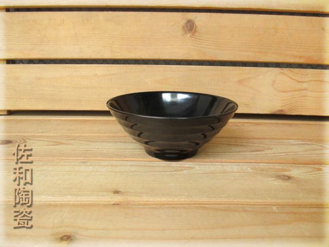 ~佐和陶瓷餐具~【05B12566黑色566拉麵碗】/ 湯碗 麵碗 飯碗 /