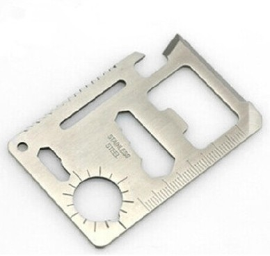 多功能工具卡刀戶外求救生卡片刀預購CH788