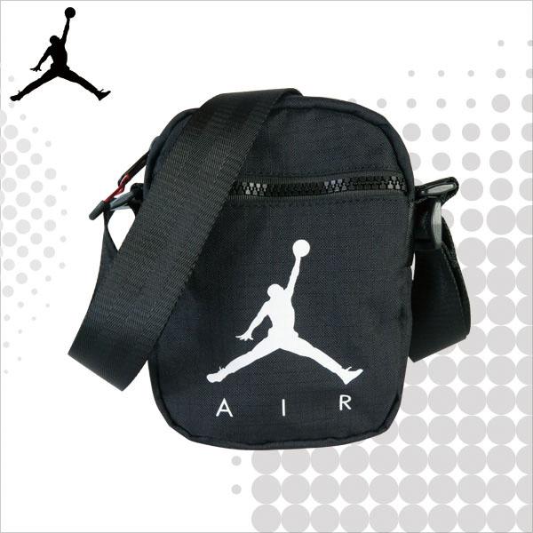 JORDAN 喬丹 側背包 JUMPMAN AIRFESTIVAL 小包 隨身包 斜背包 黑色 9A0197-023 得意時袋