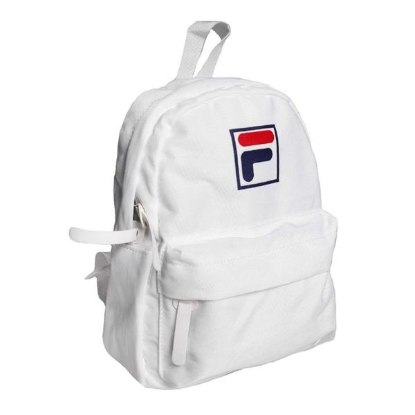 FILA 白色 後背包 兒童背包 雙肩包 運動 休閒 輕量 迷你 小背包 BPT-9016-WT