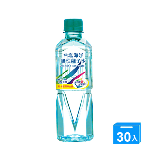 台鹽海洋鹼性離子水420mlx30【愛買】