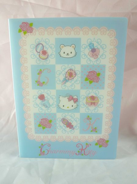 【震撼精品百貨】Charmmy Kitty_寵物貓 ~ 相本『藍字母』