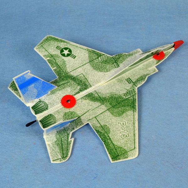 佳廷家庭 DIY紙模型立體勞作3D立體拼圖專賣店 航空模型飛機 彈射迴旋飛機4 美國F15 FLYWITCH