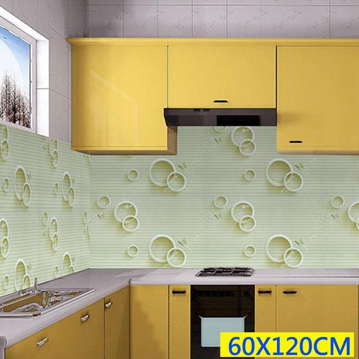 60X120CM 好清理防油防水磁磚壁貼