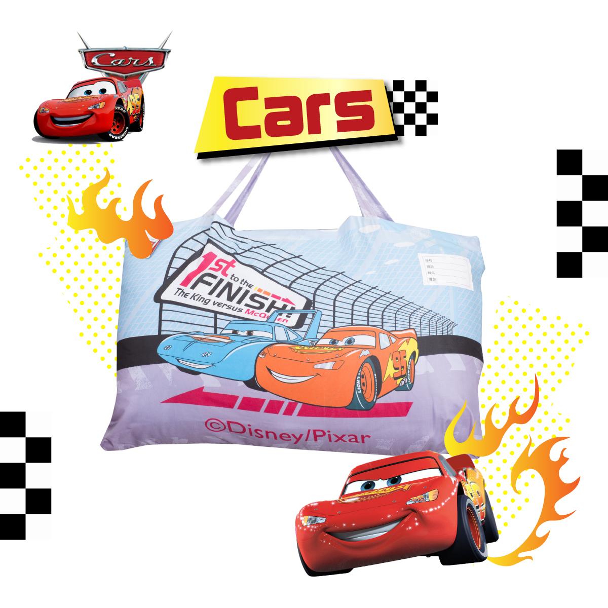 閃電麥坤 賽車 兒童睡袋 鋪棉兩用 台灣製