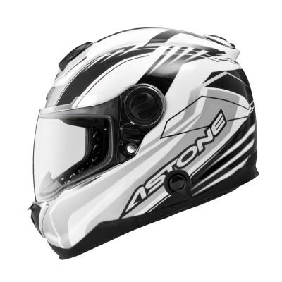 東門城ASTONE GT1000F碳纖維AC6白黑碳纖維全罩式安全帽