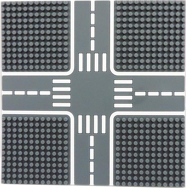 Tico微型積木城市道路底板-柏油灰T-9907-A
