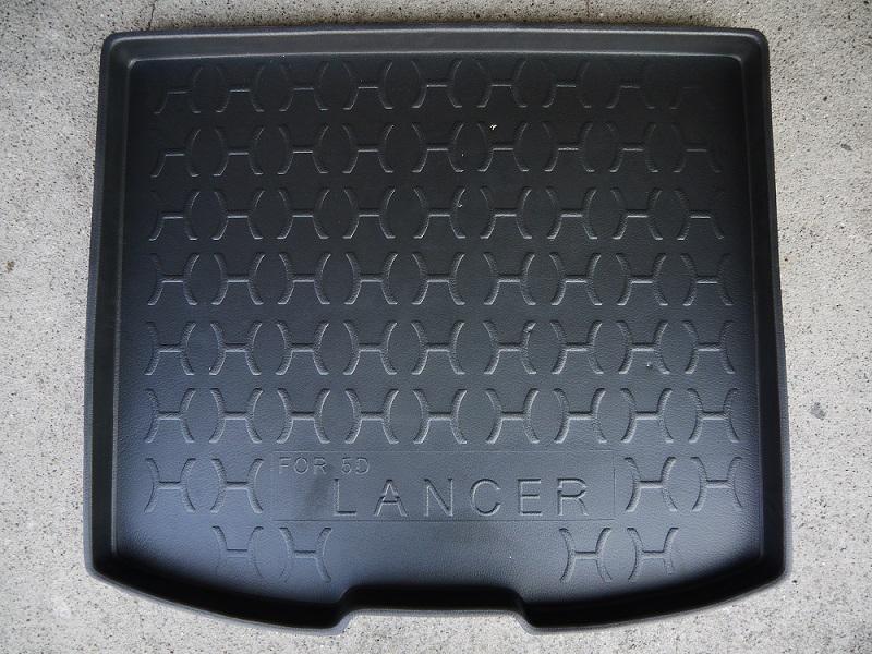 台灣製加高型三菱14年LANCER SPORTBACK 5D專用防水托盤防水材質後車箱後廂墊