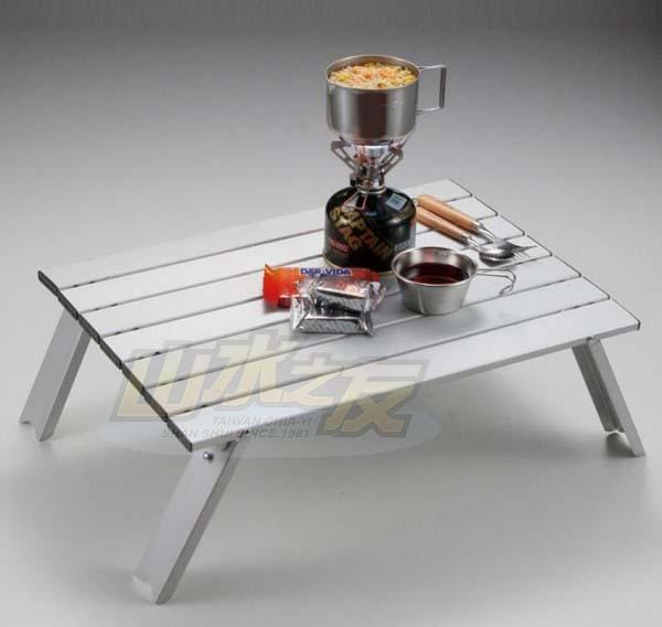 山水網路商城日本鹿牌Captain Stag鹿牌小鋁桌蛋捲桌野餐桌UC-0501