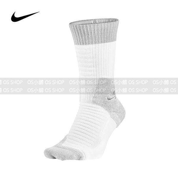 Nike SB ELITE長襪SX5007-100白配淺灰SKATE 2.0 CREW