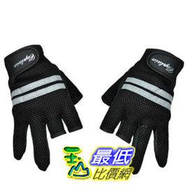 a玉山最低比價網磯釣釣魚用三指切手套防曬手套止滑手套舒適耐用16065 R224