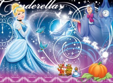 Ravensburger維寶迪士尼100片拼圖-仙度瑞拉Disney Cinderella