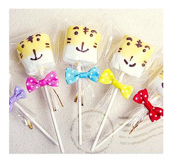 幸福朵朵小朋友生日會分享-手作巧克力棉花糖x50支最多可選5款造型禮贈品婚禮小物