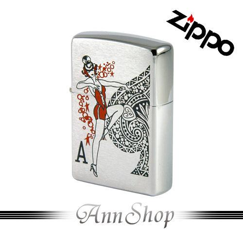 【ZIPPO‧賭博的女孩打火機】全球知名防風打火機‧情人禮物