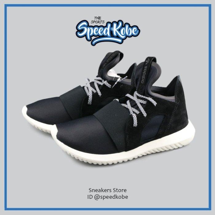 ADIDAS 休閒鞋 Tubular 黑白 繃帶 武士 全智賢 女 S75903【SP】