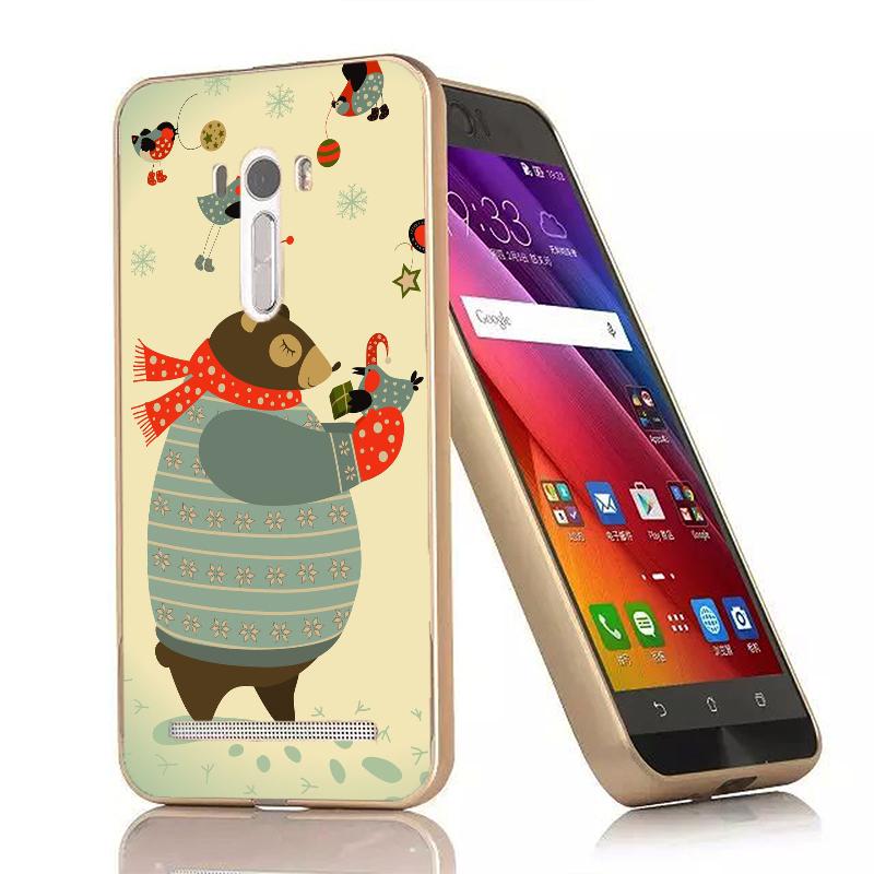 俏魔女美人館胖胖熊-金屬邊框ASUS Zenfone Selfie手機殼保護套保護殼保護套