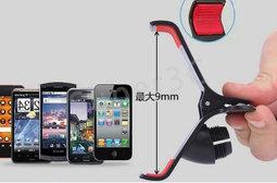新竹超人3C萬用360度大夾子吸盤導航支架手機大吸盤iphone6 5S
