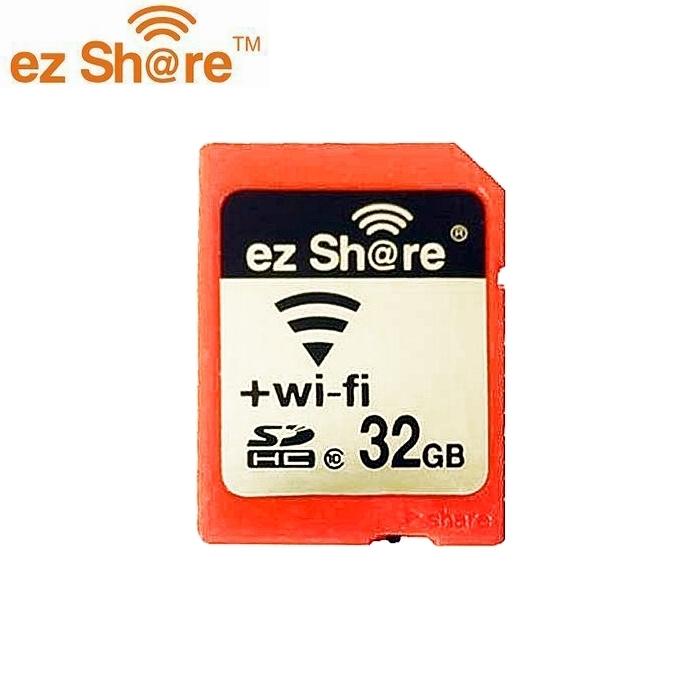 我愛買ez Share無線wifi記憶卡SD記憶卡SD卡32G 5D mark II III 6D 7D 5D3 5D2&D2 2 3 4 wi-fi記憶卡