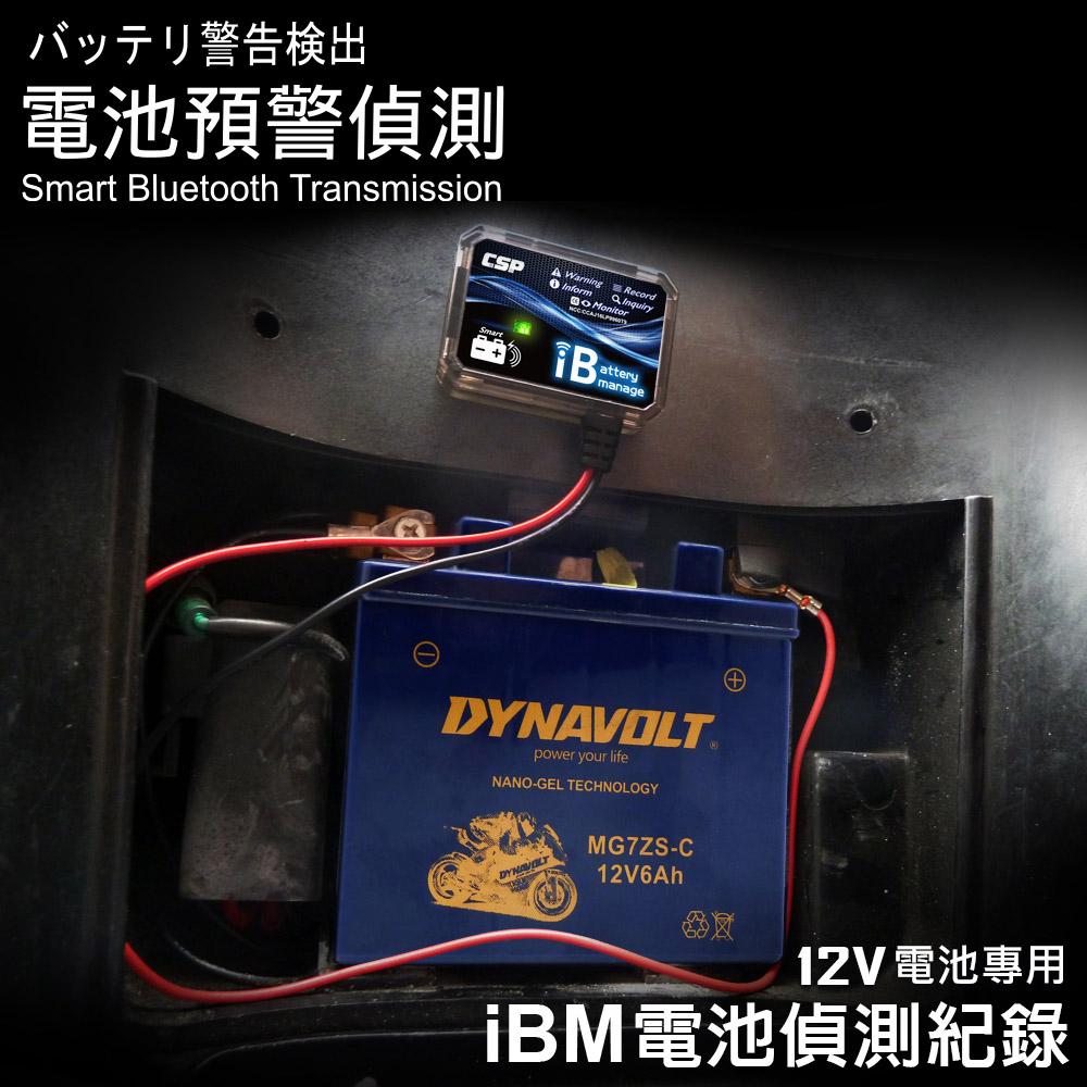 IBM藍牙電池偵測器 可安裝用於 REC80-12 (12V) 鉛酸蓄電池