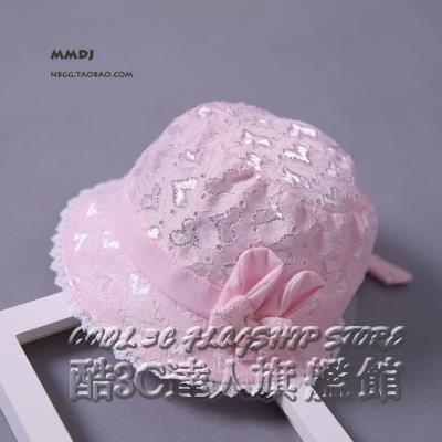 嬰兒帽子夏天薄款0-6個月可調節寶寶遮陽帽女0-1歲透氣涼帽盆帽