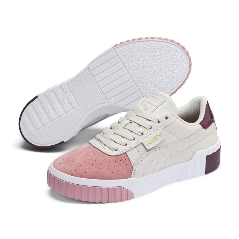 Puma Cali Exotic 白粉 女款 餅乾鞋 滑板鞋 復古鞋 板鞋 休閒 運動休閒鞋 36996801