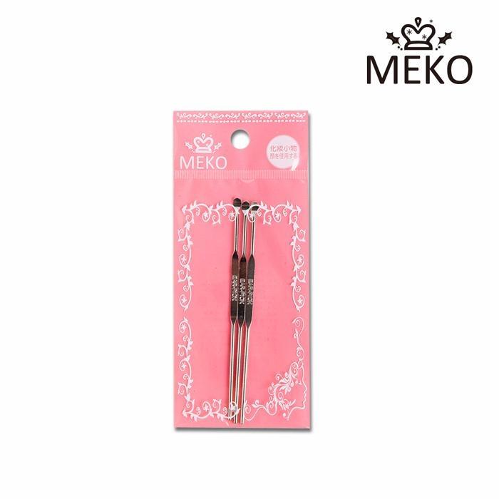 ✨MEKO小資時尚 ✨    MEKO 一般耳扒(3入) A-013/挖耳棒   [MEKO美妝屋]