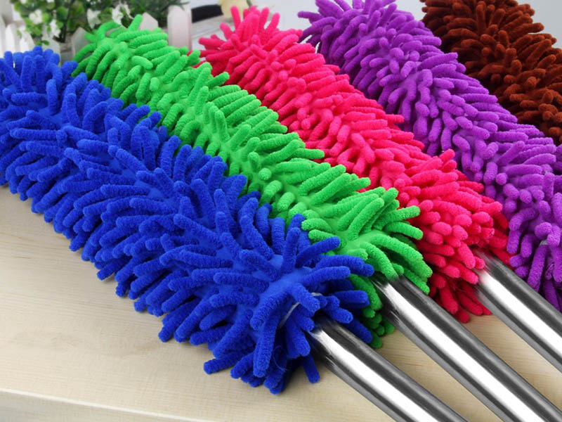 【雪尼爾除塵棒】超細纖維除塵刷 居家.汽車用清潔刷 清潔撣 珊瑚纖維除塵撣 雞毛撣