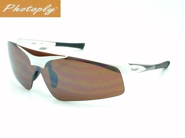 又敗家台灣斌視PHOTOPLY白色鏡片可換MLB大聯盟眼鏡太陽眼鏡即防藍光眼鏡防藍光紫外線UV適OL