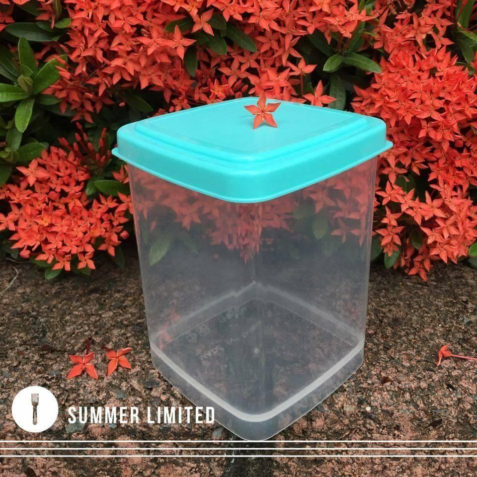 一組(底 蓋) 675CC PP立方體盒 餅乾盒 保鮮盒 收納盒 包裝盒 糖果喜餅盒 西點盒 塑膠盒