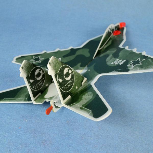 佳廷家庭 DIY紙模型立體勞作3D立體拼圖專賣店 航空模型飛機 彈射迴旋飛機6 美國F18  FLYWITCH