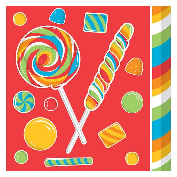 紙巾16入-糖果派對