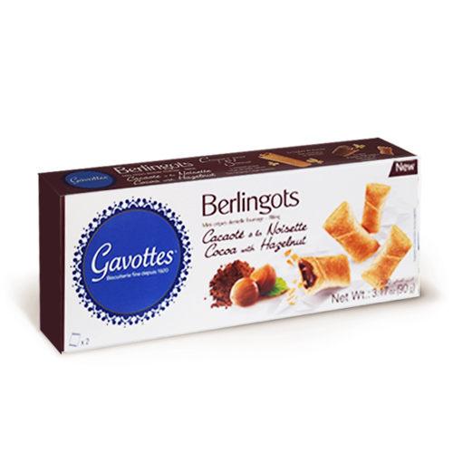 Les Gavottes 樂緹‧巧克力夾心法式薄餅捲90g