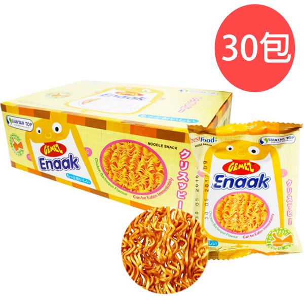 【現貨免運】 韓國 Enaak 小雞麵 (30包入/盒裝) 480g 小雞點心麵 (購潮8)